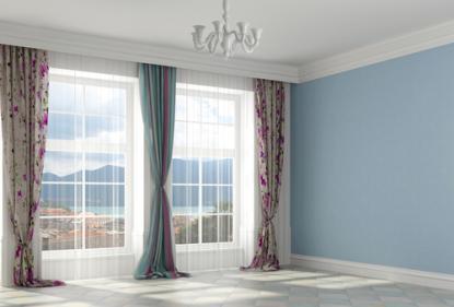 Как замерить окно для пошива штор