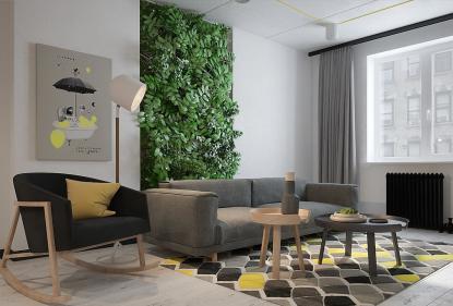 Как создать вертикальный сад в квартире