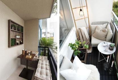Лайфхак от «Метриум»:  Как обустроить комфортную зону отдыха на балконе или лоджии