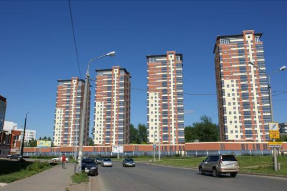 ЖК по улице Юрша